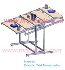 Katlanır Masa sistemi KM812