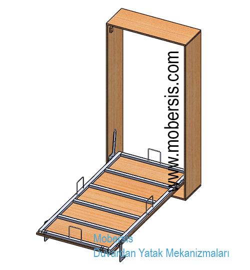 Metal kasa katlanır yatak mekanizması W01