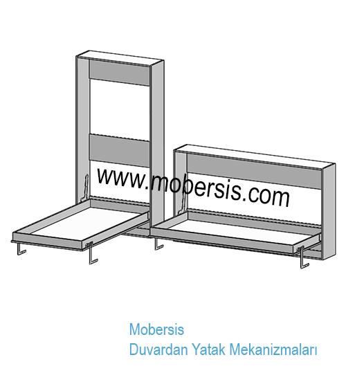 Sünger yatak katlanır yatak sistem mekanizması W03