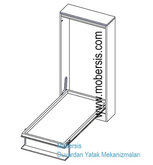 Alüminyum Kasa katlanır Yatak sistem mekanizması W04