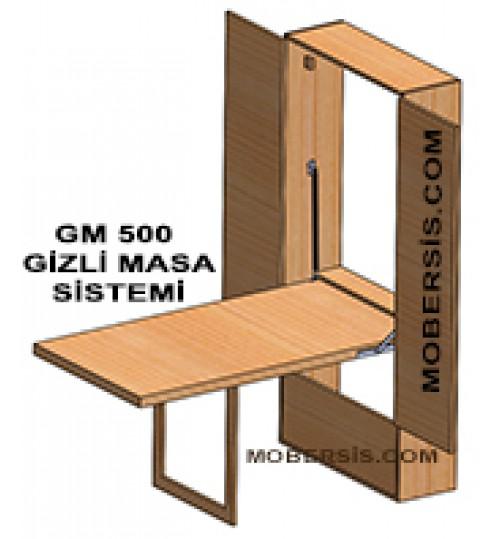 Gizli masa sistem GM500